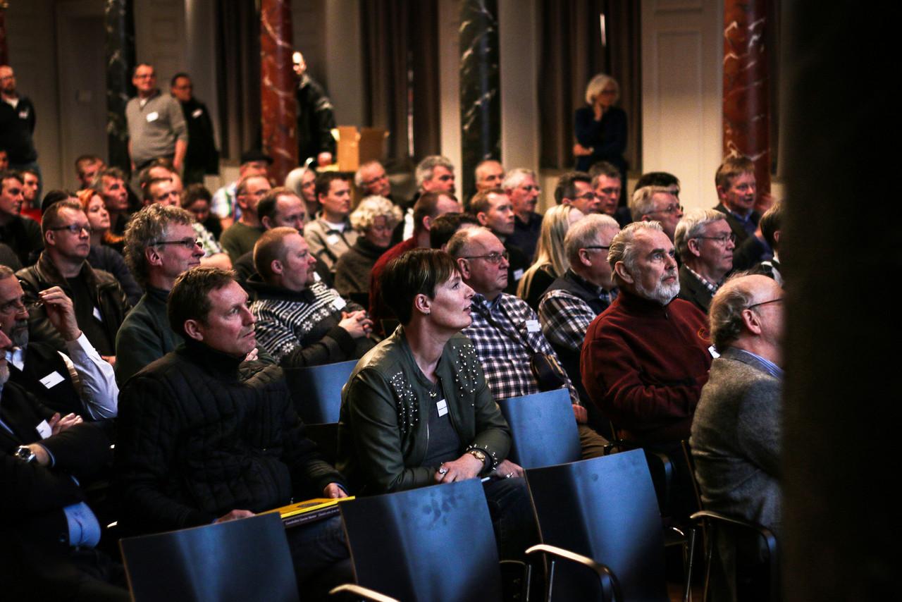 Den 31. januar 2014 afholdt Nationalmuseet sin første faglige dag for landets amatørarkæologer og detektorførere - den såkaldte danefædag / Foto: Nynne B. Faartoft.